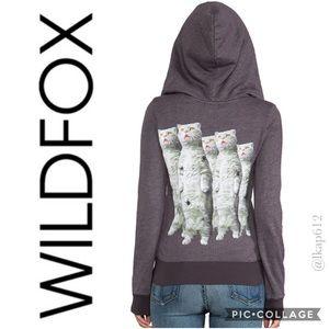 Wildfox- Zombie Cats Track Jacket😻